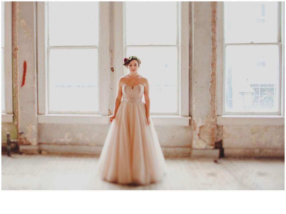 BRIDALS // Blush BHLDN Gown Warehouse Bridal Session   Emma. S ...