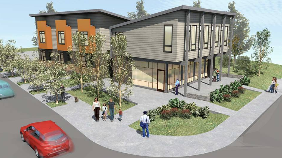 Rendering of Fourth North, an Urban Housing Solutions project in East Nashville. The agency is considering expanding service to include more individuals with intellectual and developmental disabilities.