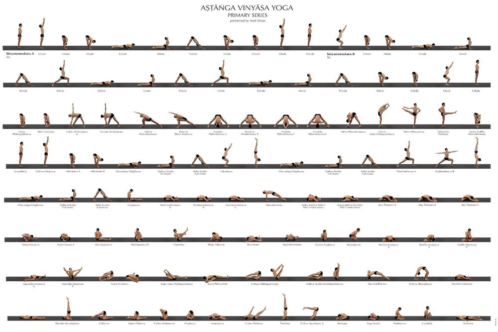 Ashtanga Primary Series Sequence