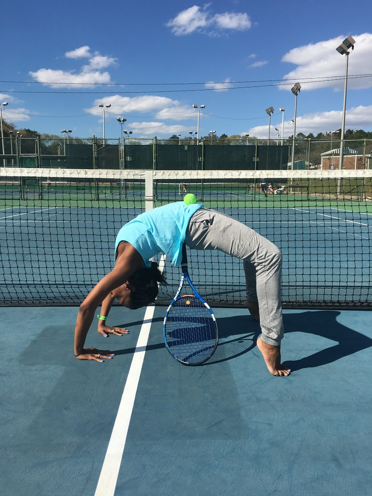 Image result for tennis and yoga