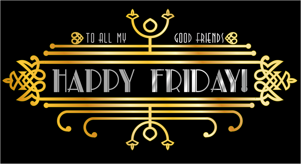 Happy Friday to you, and you... and you! Doesn't art deco just make you want to dance?