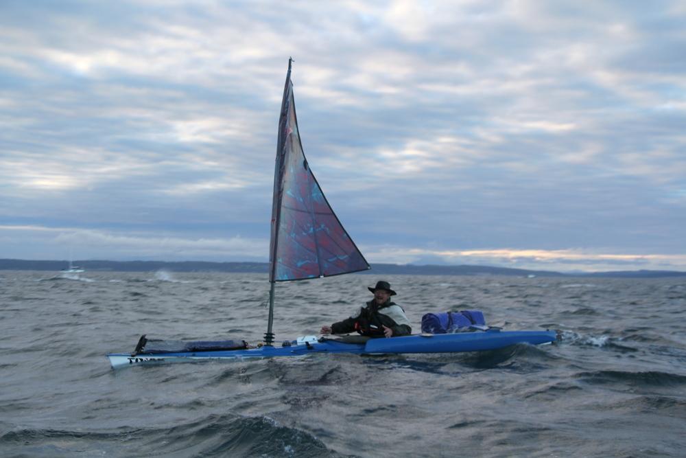 "Alan Hartman, 47, ""Beaver Pelt Guy,""is the only Alaskan in the first-ever Race to Alaska."