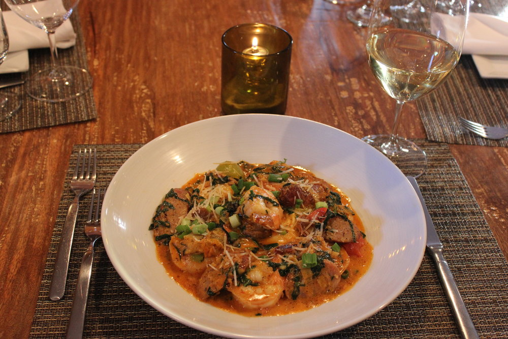 Cucina South Shrimp and Grits.JPG