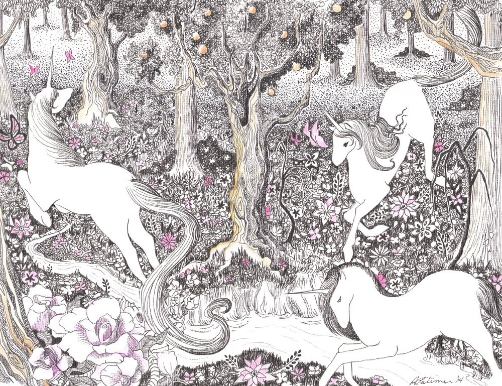 Frolic_2014 (Pen and Ink and Watercolour).jpg