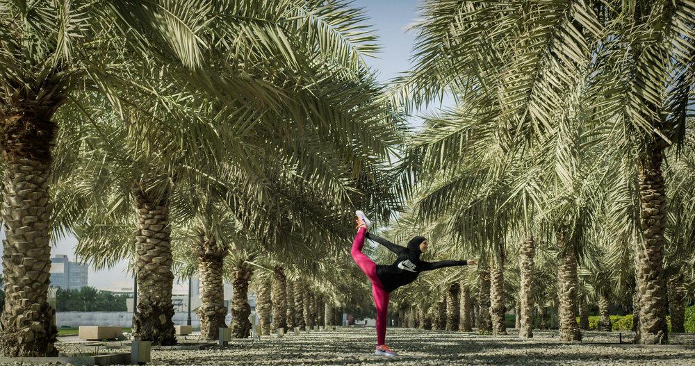 Zahra Lari - First Competitive Figure Skater in Abu Dhabi