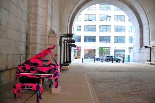 NYC Outdoor Piano