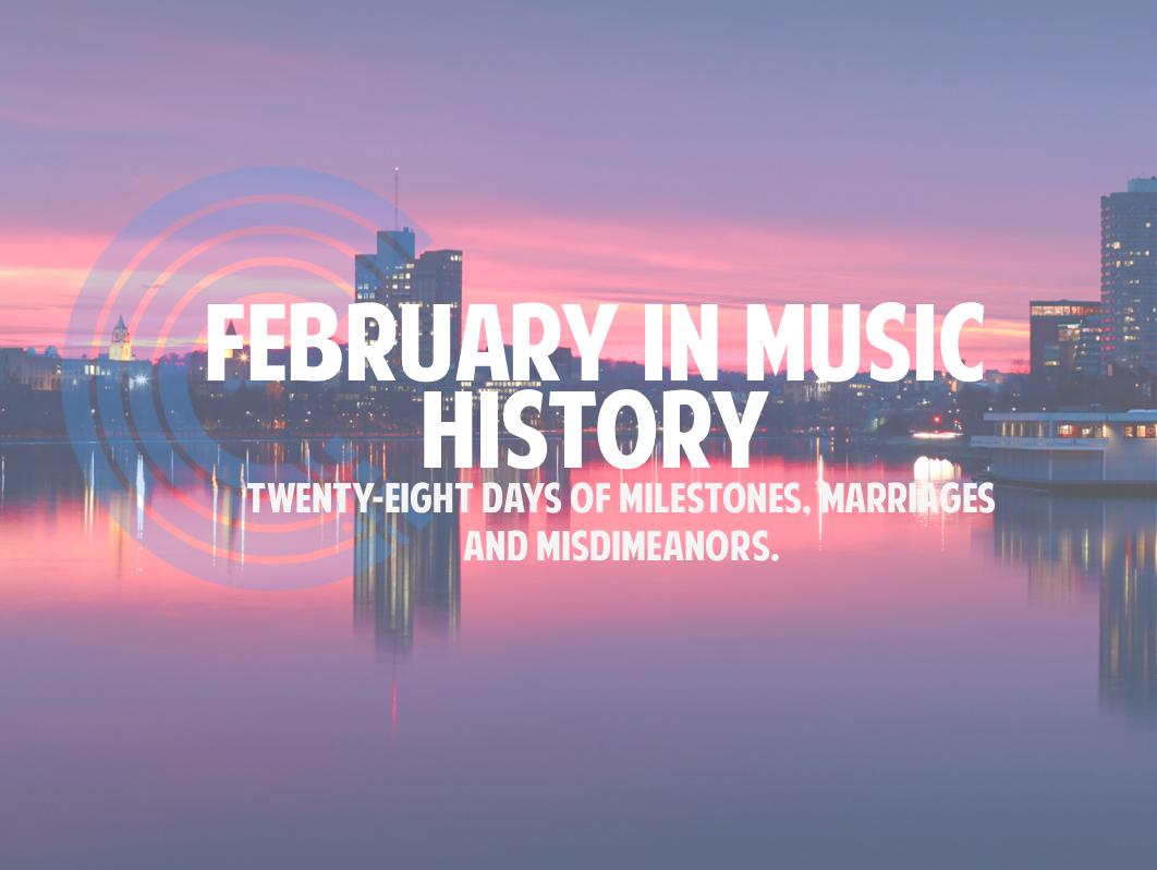 february music history