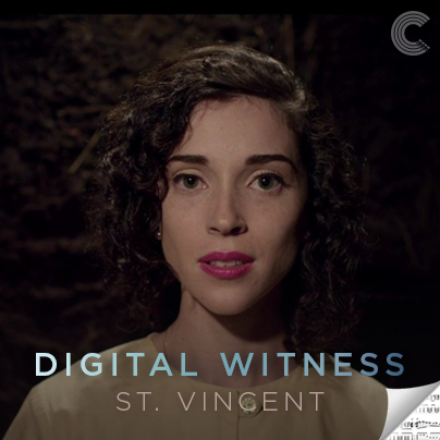 St Vincent Sheet Music - Digital Witness