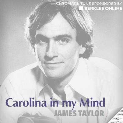 James Taylor Sheet Music - Carolina in my Mind