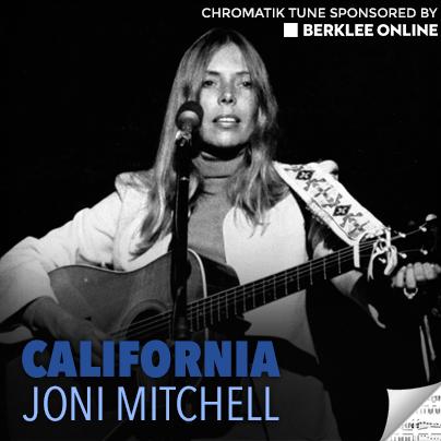 Joni Mitchell Sheet Music - California
