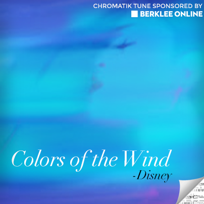 Disney Sheet Music - Colors of the Wind