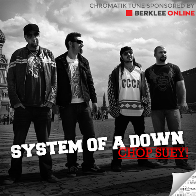 System of a Down Sheet Music - Chop Suey