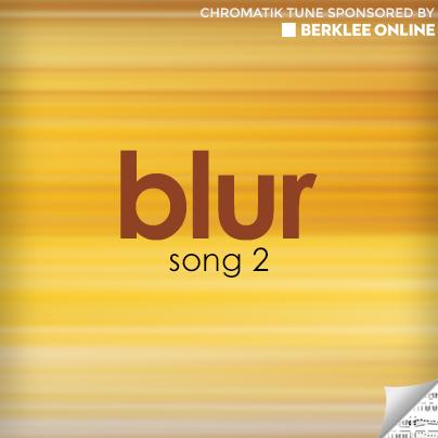 Blur Sheet Music - Song 2