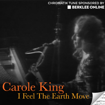 Carole King Sheet Music - I Feel the Earth Move