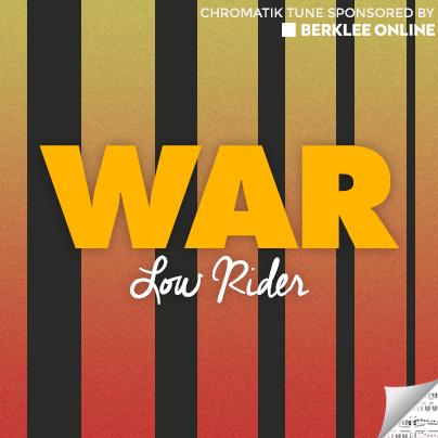 War Sheet Music - Low Rider