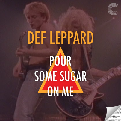 Def Leppard Sheet Music - Pour Some Sugar on Me