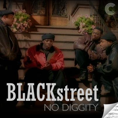 Blackstreet Sheet Music - No Diggity