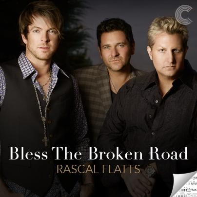 Rascal Flatts Sheet Music - Bless the Broken Road
