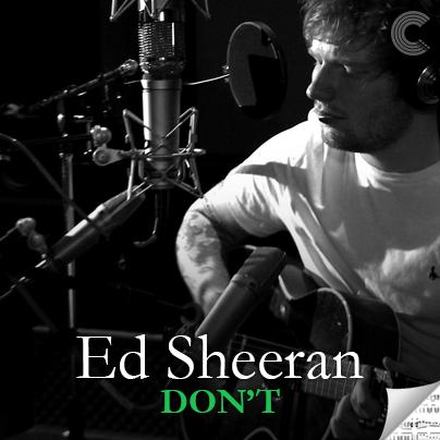 Ed Sheeran Sheet Music - Don't