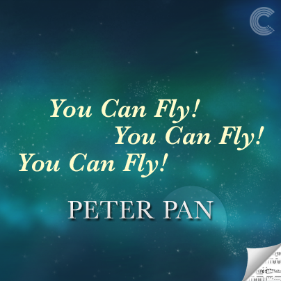 Peter Pan Sheet Music - You Can Fly! You Can Fly! You Can Fly!
