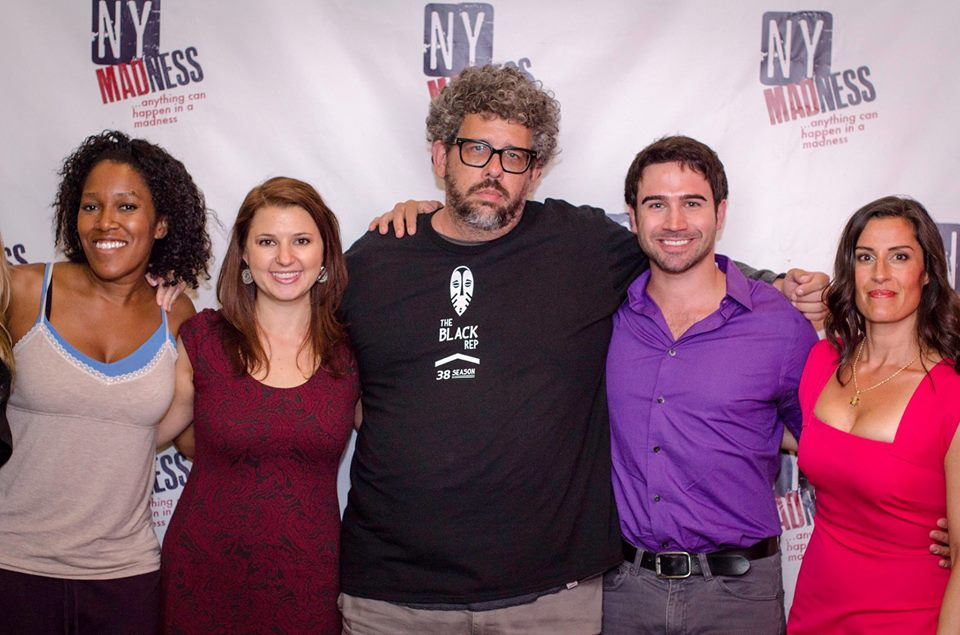 From L to R: Yours Truly, Ilana Stein, Neil LaBute, Stephen Dexter, Cecilia Copeland (Photo credit: Joel Stigliano)