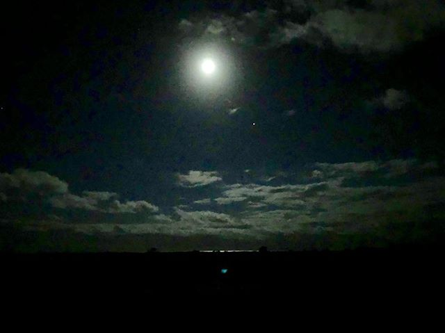 """Make a vow when Solstice comes/To Find the Light in Everyone/Keep the Faith and bang the drum/On the longest night of the year"" - ""The Longest Night of the Year"" #song and lyrics by the great @marychapincarpenter #fullmoon over the #sea on #marthasvineyard #yule #winter #solstice #mistover #mvy #indiefilm #wicca #themistovertale #paganism #nature #moon"