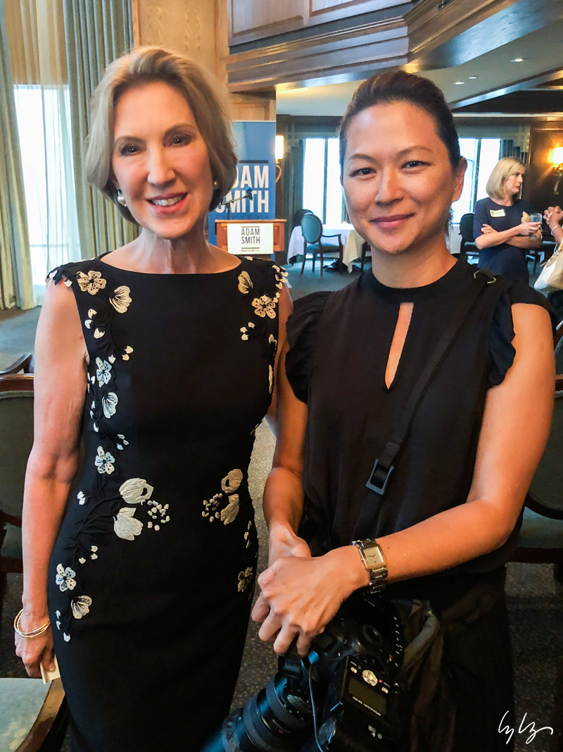 Carly Fiorina and Lyly Norasingh.jpg