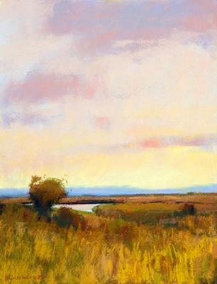 An Open View 16x12 pastel $1,200