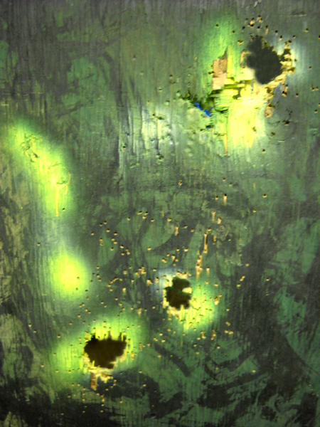Mista Kurtz He Dead (bullet holes detail)