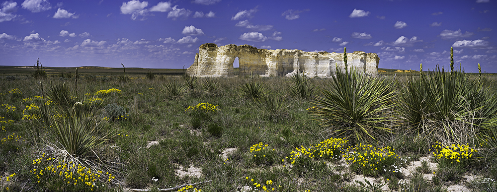 Monument Rocks, Gove County, Ks