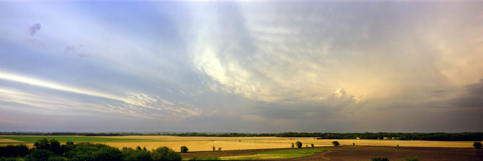 Sky, Wheat, Harvest