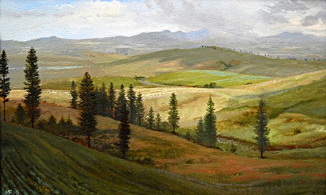 The Palouse, Idaho 8x12 op $1,050