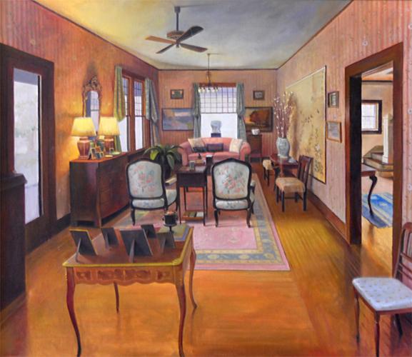 Untitled Interior 30x34 oc $3,500