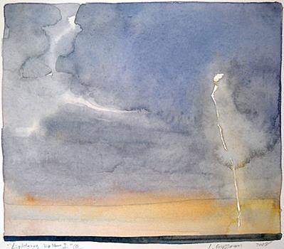 Lightning Bolt I  6x7 wc $350 fr