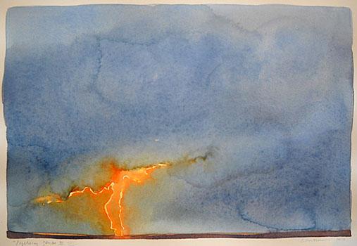 Lightning Strike III  8x12 wc $420 fr