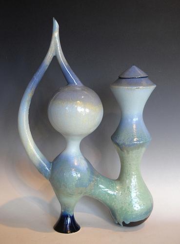 Teapot III  20.5x13.5x5 ceramic $425