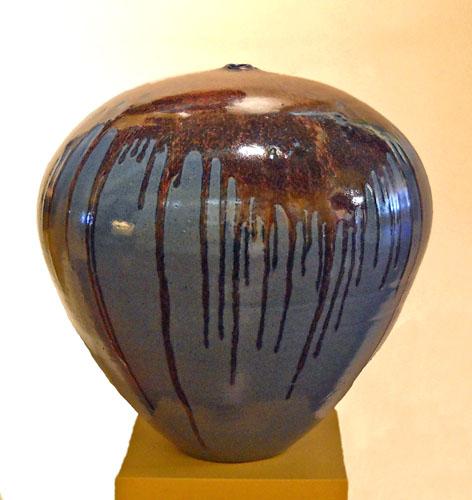 Volcano Vessel 21x20x20 ceramic $800