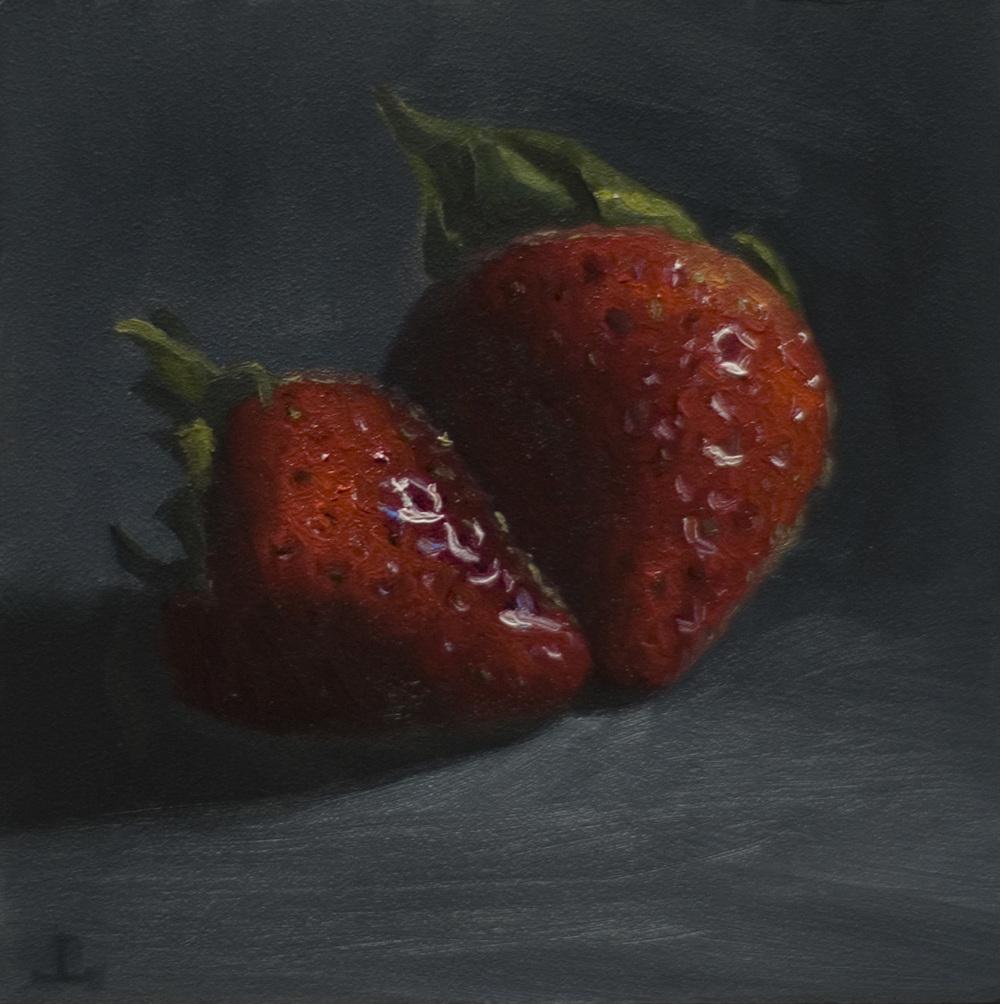 Strawberries 4x4 oc $250