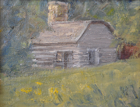 Pillsbury Crossing Study VII   6x8  oc  $200