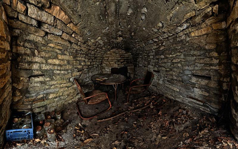 C Smith Root Cellar - Manhattan Township - Riley County
