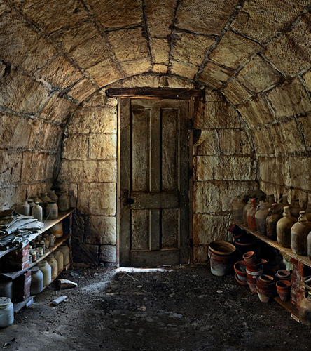 Candon-Carr Root Cellar - Liberty Township - Geary County Alt