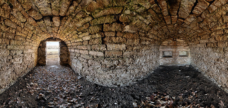 Charles Warner-Tulley Hill Root Cellar - Wingield Township - Geary County