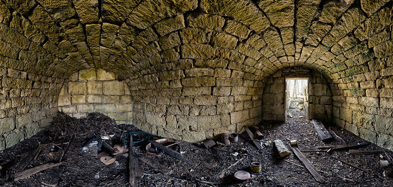 GW Engstrom Root Cellar - Liberty Township - Geary County