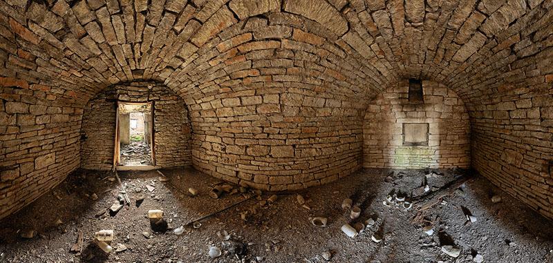 John Johnson Root Cellar - Mill Creek Township - Wabaunsee County