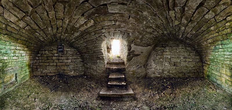 John Redman Root Cellar - Mill Creek Township - Wabaunsee County A