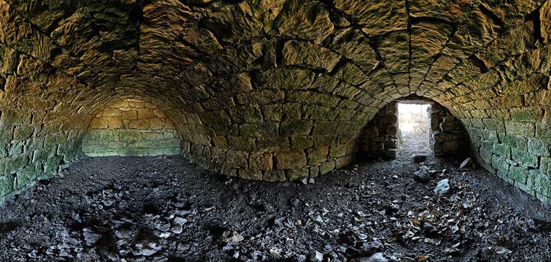 Louis Svacha Root Cellar - Swede Creek Township - Riley County