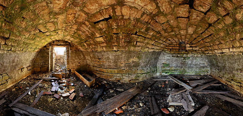 Old Stone Fort Root Cellar - Washington Township - Wabaunsee County