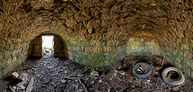 R Peterson Root Cellar - Liberty Township - Geary County