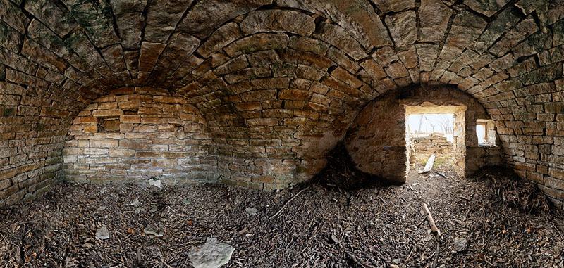 W Orch-Theirer Root Cellar - Washington Township - Wabaunsee County