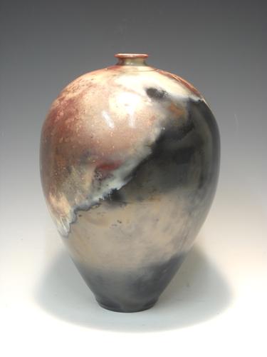 Vase Form #23 9.5x7x6 Pit $300